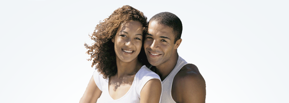 black man and wife